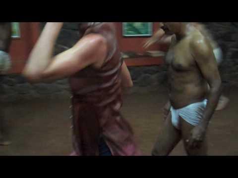 Shiva Practicing Kalari