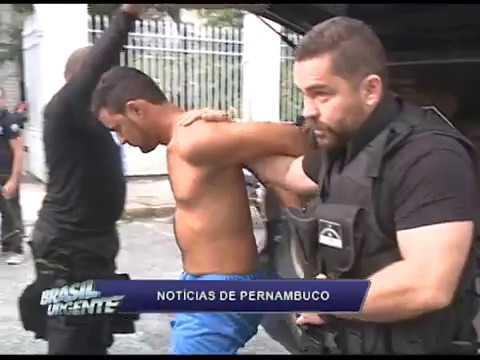 [BRASIL URGENTE PE] Operação captura suspeito de liderar quadrilha de tráfico de drogas