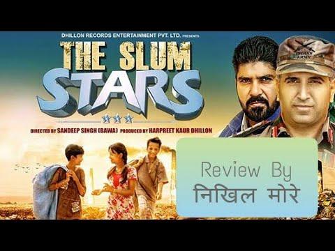 The slum stars | bollywood movie| hindi review by nikhil more | chiragdeep gill | ridhima malhotra Movie Review & Ratings  out Of 5.0
