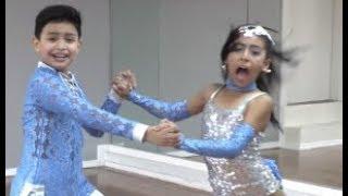 【超スゴイ動画】子供ペアが今まで見たことないキレッキレのダンスを披露!
