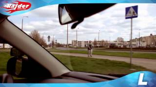 Rajder - Toruń trasy egzaminacyjne - jazda po rondzie - Rondo Czadcy - Kursy jazdy