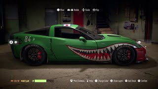 A tutorial on creating Warbird aka Shark Teeth style vinyls in Need For Speed 2015.  Look forward to seeing everyone change the landscape from street racing into War Thunder Chaos!