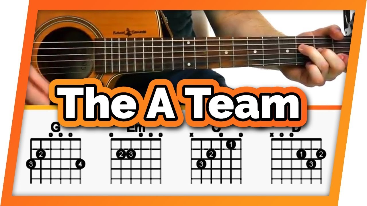 The A Team Guitar Tutorial (Ed Sheeran) Easy Chords Guitar Lesson