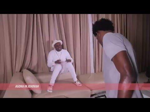 E. News   Agoha and Director Matt Max on set of 'Jehovah' Video Shoot