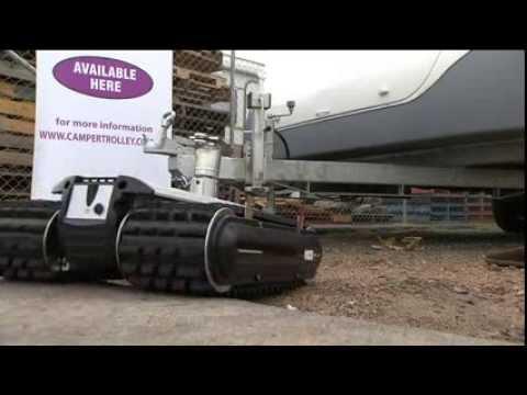 camper trolley ct2500 tam tandem axle mover youtube. Black Bedroom Furniture Sets. Home Design Ideas