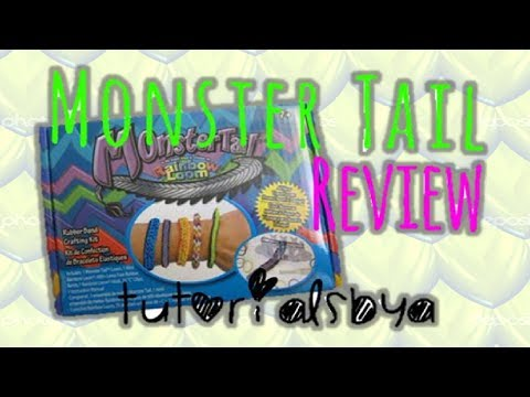 NEW MONSTER TAIL RAINBOW LOOM REVIEW / OVERVIEW