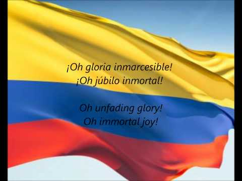 National Anthem of the Republic of Colombia (1887) (Song) by Oreste Sindici and Rafael Nunez