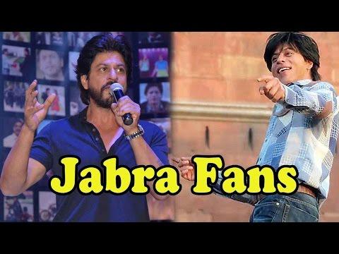 Shah Rukh Khan Sings 'Jabra Fan' Song!