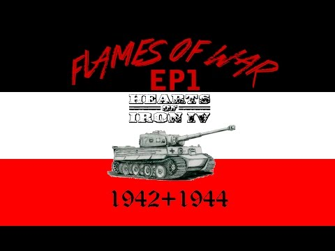 HOI4 / World In Flames 1942 Mod - Episode 1