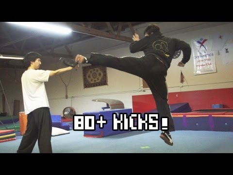 KICKS - Kicking reel for Eric Jacobus (Stryker of Mortal Kombat Legacy), where he demonstrates everything from the basics of the roundhouse and hook kick to the 540,...