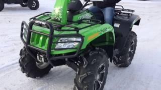 9. 2014 Arctic MLT1PUSX 700 MudPro Quad