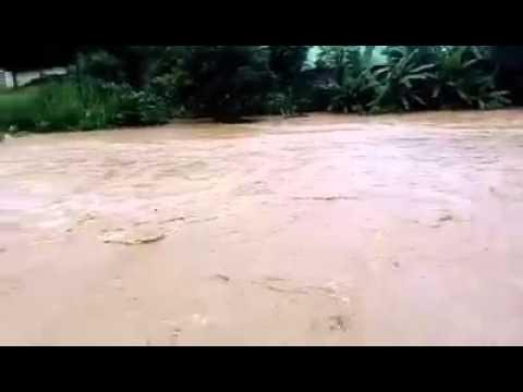 Chuva em senhora do porto MG