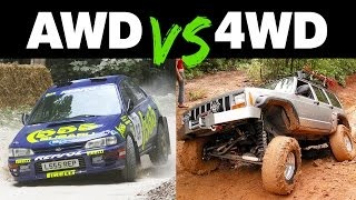 Download Youtube: The Differences Between AWD and 4WD