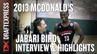 Jabari Bird - 2013 McDonald's All-American Game - Interview & Practice Highlights