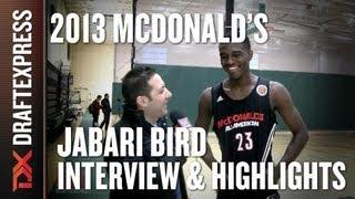 Jabari Bird - 2013 McDonald's All-American Game - Interview & Practice Highlights