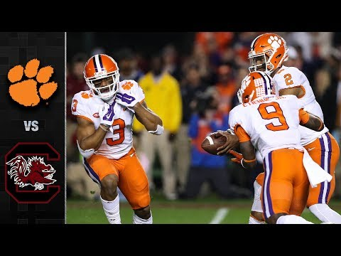 Clemson vs. South Carolina Football Highlights (2017) (видео)