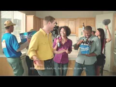 Super Bowl Bud Light kitchen commercial 2011