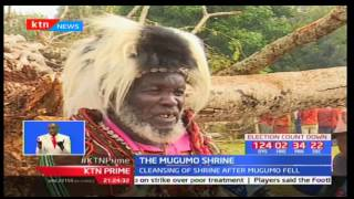 In Mathira constituency a very special event was held, to cleanse the shrine where a Mugumo tree fell down recently. Elders say there is no need to worry as the ...