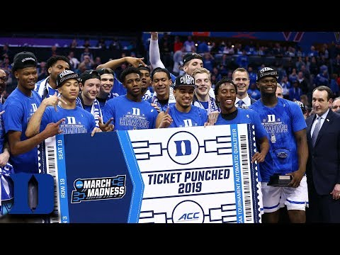 Duke Wins 2019 ACC Basketball Tournament