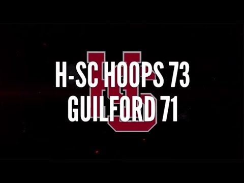 Highlights: Hampden-Sydney Basketball 73, Guilford 71 - 1/27/2016