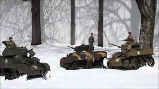 Stuart Tanks Wolf Packs (1/6 Scale RC WW2 Action Figures )