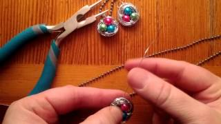 Bird Nest Jewelry Tutorial - YouTube