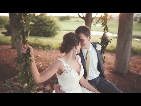 High School Sweethearts | Fun, beautiful OKC wedding film (видео)