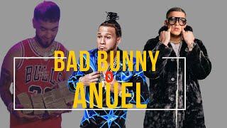 """Bad Bunny o Anuel y Otro gran paso Internacional de """"El Alfa El Jefe"""""""