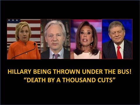 """Hillary  """"Death By A Thousand Cuts"""" Wikileaks, FBI, Health Issues!"""