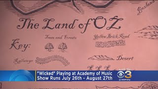 "One of the hottest Broadway shows returns to Philadelphia as ""Wicked"" opens tomorrow at the Academy of Music."