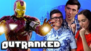 Top 10 Superhero Movies of All-Time - OUTRANKED TRIVIA GAME SHOW! Ep.4