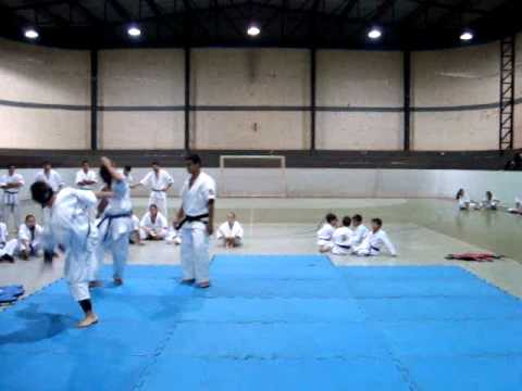 Daido Karate; Três Barras do Paraná, PR - Luta Fabiano x Jacir