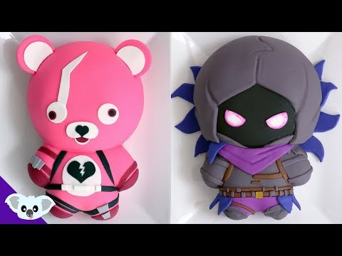 FORTNITE CAKES! | Raven & Cuddle Team Leader | Koalipops