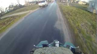 3. GoPro Suzuki ltz 400 real top speed with Iphone app.