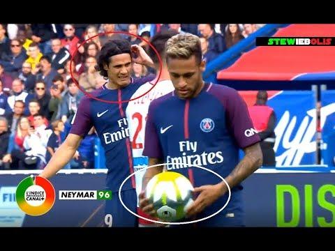 Neymar Jr ⚽ 2 Goals (1 Penalty) & 1 Assist for Cavani Vs Bordeaux ⚽ 2017-2018 ⚽ HD #Neymar #PSG