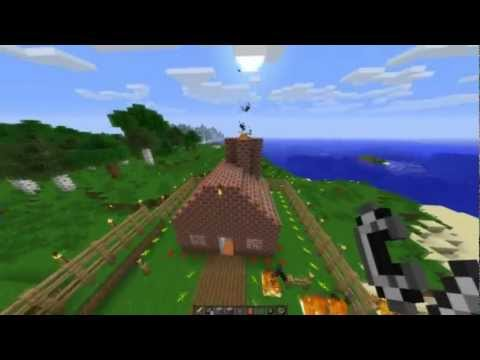 minecraft 1.2 update - The real way to catch Herobrine in Minecraft 1.2.5. Tested in Single Player, unsure if it'll work in multiplayer. Anything that happens to you or your comput...
