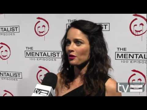 Robin Tunney at The Mentalist Season 5 100th Episode Party