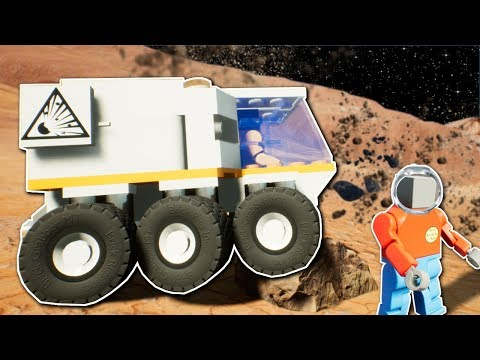 MARS AVALANCHE SURVIVAL! - Brick Rigs Multiplayer Gameplay - Lego Space Roleplay