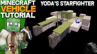 Minecraft Vehicle Tutorial – Yoda's Starfighter