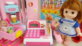 Video Baby Doli and Mart food toys Baby doll kitchen toys play MP3, 3GP, MP4, WEBM, AVI, FLV Agustus 2017