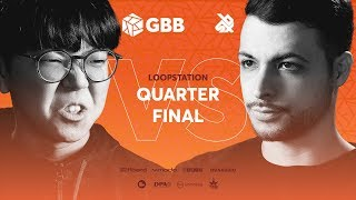 Video SO-SO vs BEATNESS   Grand Beatbox Battle 2019   LOOPSTATION 1/4 Final MP3, 3GP, MP4, WEBM, AVI, FLV Juni 2019