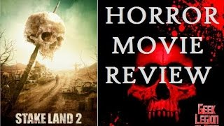 STAKE LAND 2 ( 2016 Nick Damici ) aka THE STAKELANDER Vampire Horror Movie Review