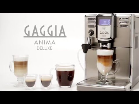 Gaggia Anima Deluxe Super-Automatic Espresso Machine