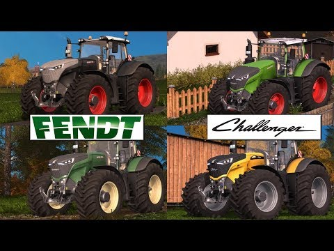 Fendt 10xx Vario Serie Update by Ahran Modding