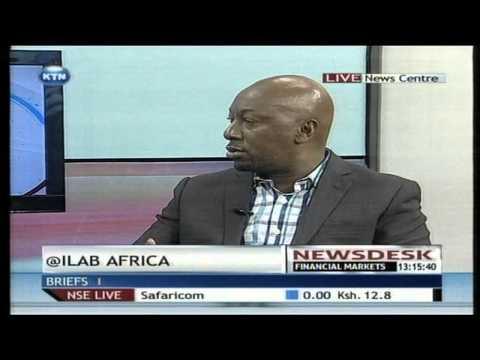 The innovator of @Ilab Africa ,Robert Ngeru , vp Samsung electronics