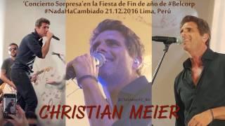 Christian Meier _Concierto Sorpresa'en la Fiesta de Fin de año de #Belcorp