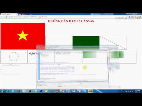 Hướng dẫn HTML 5 và Canvas