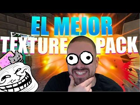 EL MEJOR TEXTURE PACK PVP | MINECRAFT 1.8 PVP + TROLL APIXELADOS V8
