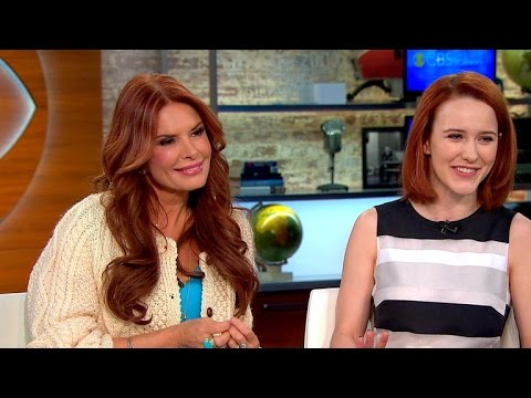"""Roma Downey and Rachel Brosnahan on """"The Dovekeepers"""" premiere"""