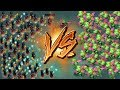 Night Witch Vs Baby Dragon - Clash of Clans Battle - New CoC Troop Attacks